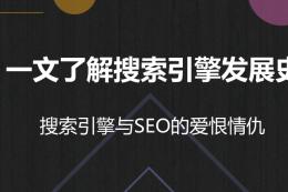 縱橫SEO:一文了解搜索引擎發展史
