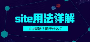 site命令在SEO中的应用