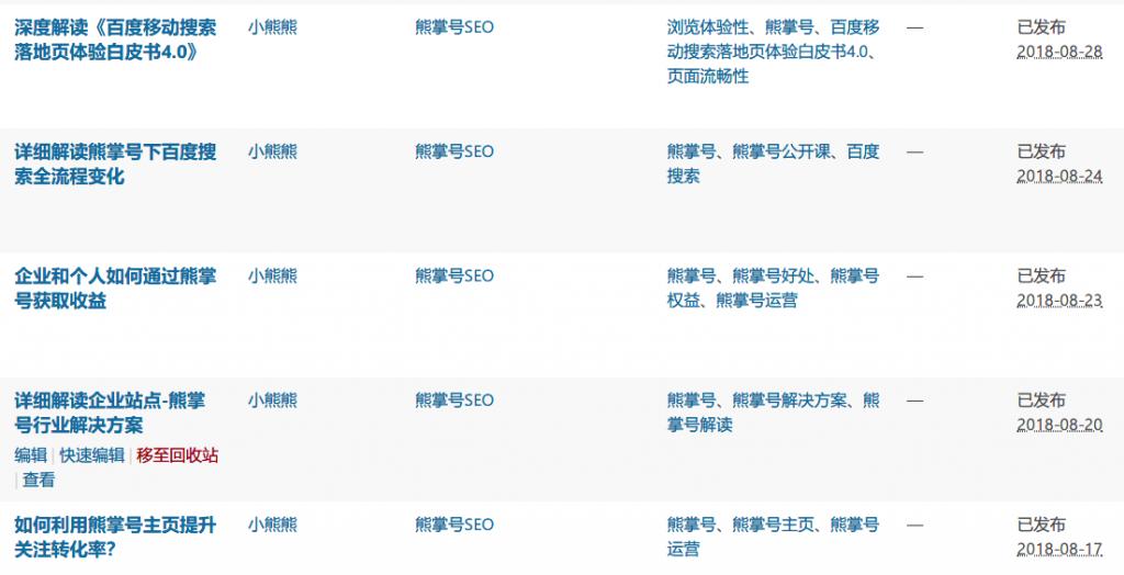 縱橫SEO一周發布了3篇原創文章