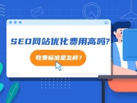 現在做SEO網站優化費用高嗎?收費標準是怎樣?