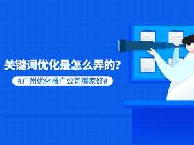 关键词优化是怎么弄的?广州优化推广公司哪家好?