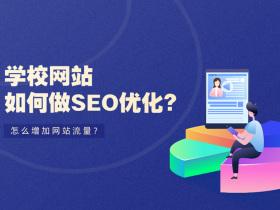 学校网站如何做SEO优化?怎么增加网站流量?