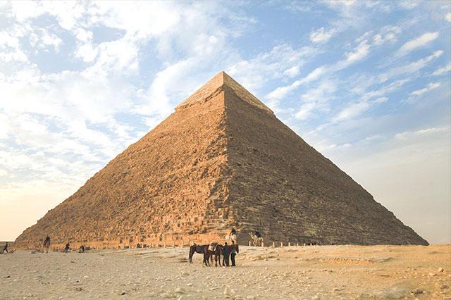 遵循金字塔原则分布