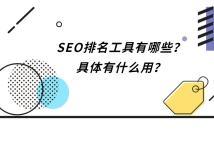 SEO排名工具有哪些?具体有什么用?